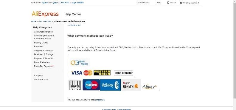 10e2adadb Mamy do wyboru kilka metod płatności, co oczywiście jest także zależne od  kraju, w którym mieszkamy – zawsze jednak możemy wybrać szybką płatność  on-line i ...